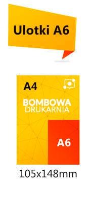 Cennik ulotek format A6 na papierze kreda 130g